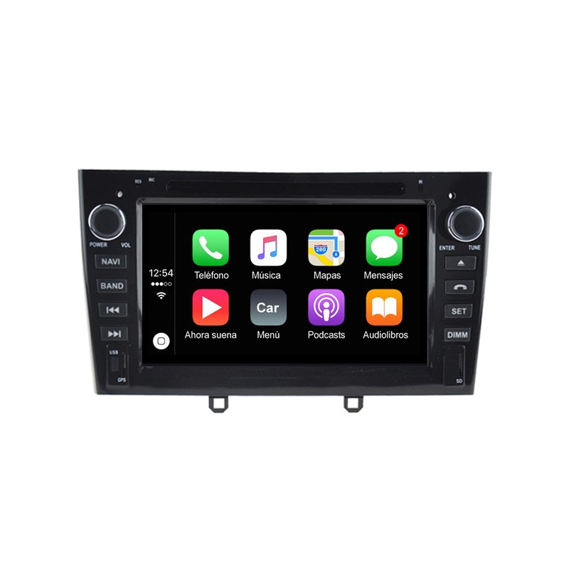 JVC 2-din USB//Bluetooth auto radioset para Fiat Scudo 2 a partir de 2007
