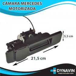 MB110 CÁMARA AUTOMÁTICA MERCEDES TIRADOR DE MALETERO MOTORIZADA A COLOR