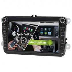 "VOLKSWAGEN / SEAT / SKODA LCD 8"" - CAR PLAY y ANDROID AUTO"