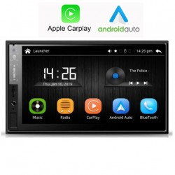 "2DIN 7"" UNIVERSAL CAR PLAY, ANDROID AUTO"
