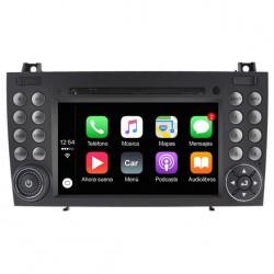 Radio 2din Android GPS Octacore 64GB FLASH. Android Mercedes SLK descapotable R171 2004, 2005, 2006, 2007, 2008, 2009