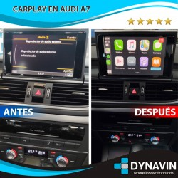 AUDI A6 C7/4G, AUDI A7/4G (RMC) - CAR PLAY, CAMARA TRASERA
