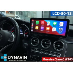 MERCEDES CLASE C W204 (2007-6/2011) - ANDROID 12,30""
