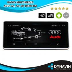 """PANTALLA AUDI A4, A5, Q5 (MMI 3G) - ANDROID 10,25"""""""