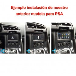 PSA SERIES: CITROEN C2, C3, BERLINGO... PEUGEOT 207, 3008, 5008... - ANDROID