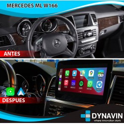 """MERCEDES BENZ ML W166, GL X166 (+2011) - ANDROID 8,4"""""""