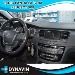 Radio 2din Android GPS Octacore 4GB RAM, 64GB ROM INAND FLASH. Android carplay Peugeot 508 2011, 2012, 2014, 2016