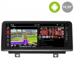 "BMW Serie 1 F20, F21 pantalla táctil NBT 10,25"" gps Android mandos del volante, usb, car play. BMW Serie 2 F23 2015"