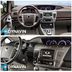 Car play radio gps 2din para Ssang Yong Rodius 2012 2013 2014 2015 2016 2017 car play android auto