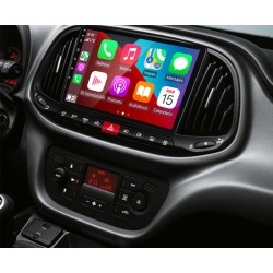 Soporte y marco fascia 2din 9DIN, 10DIN para pantalla android car play Fiat Dobló 2015 2016 2017 2018 2019
