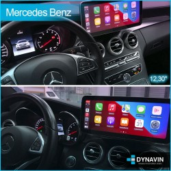 Radio 2din android octacore car play, android auto Mercdes Command Online NTG4.0 Clase E W2012 2009, 2011, 2012