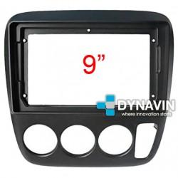 Soporte y marco fascia 2din 9DIN, 10DIN para pantalla android car play Honda CRV RD1 RD2 RD3 1997 1999 2000 2001