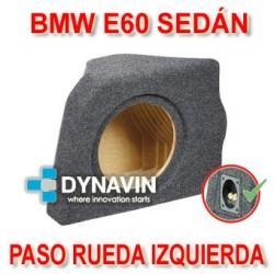 BMW E60 SEDÁN - CAJA ACUSTICA PARA SUBWOOFER ESPECÍFICA PARA HUECO EN EL MALETERO