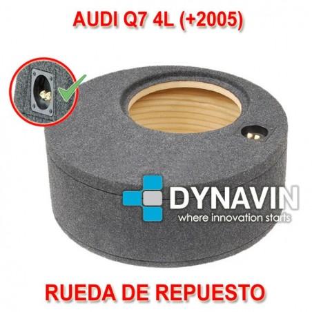 AUDI Q7 4L (+2005) - CAJA ACUSTICA PARA SUBWOOFER ESPECÍFICA PARA HUECO EN EL MALETERO