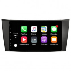Radio 2din Android GPS Octacore 4GB RAM, 64GB ROM INAND FLASH. Android car dvd Mercedes Clase E W211 y CLS W219