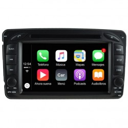 Radio 2din Android GPS Octacore 32GB FLASH. Android car dvd mercedes c w203 pre-restyling, sportcoupe, clk w209