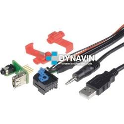 CONECTOR USB Y AUXILIAR - INTERFACE PARA ALFA ROMEO, FIAT Y LANCIA