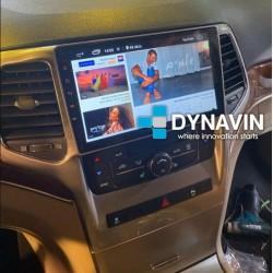 Soporte y marco fascia 2din 9DIN, 10DIN para pantalla android car play Jeep Grand Cherokee 2010 2011 2012 2013 2014