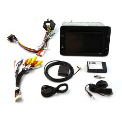 Pantalla CarPlay 2din Android 10 GPS 4GB RAM, 64GB Alfa Romeo 149, brera, spider Typ 939 2004, 2006, 2007, 2008, 2010