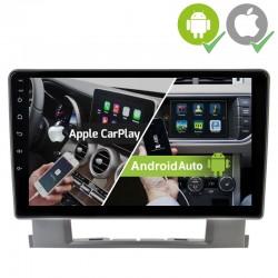 Pantalla Android 2din gps Octacore 4/64GB. Cámara trasera CarPlay Android Auto Opel Astra Caja J CD300, CD400 2009, 2010, 2011