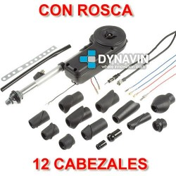 ANTENA AUTO-ELECTRICA, AUTOMATICA DE RADIO AM, FM PARA COCHE