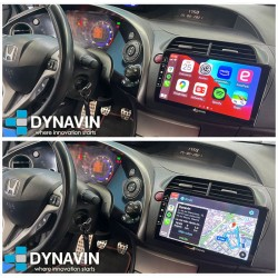 Dynavin N7 Honda Civic Pro 2din OEM CarPlay, Android Auto, GPS, cámara 360 Honda CRV 2006, 2007, 2008, 2009, 2010, 2011