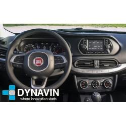 Pantalla multimedia Dynavin-MegAndroid Android Auto CarPlay para Fiat Tipo 2015, 2016, 2017, 2018