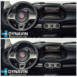 Pantalla multimedia Dynavin-MegAndroid Android Auto CarPlay para Fiat uno 2019 2020 2021 2022 2023