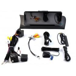 "BMW X3 F25, BMW X4 F26 2010, 2011, 2012, 2013 pantalla táctil CIC 10,25"" gps Android mandos del volante, usb, car play"