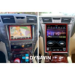 Pantalla multimedia Dynavin-MegAndroid Android Auto CarPlay para Lexus LS460 y Lexus LS600