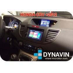 HONDA CRV (+2012) - SOPORTE DE MONTAJE CON MARCO ADAPTADOR 1 Y 2DIN
