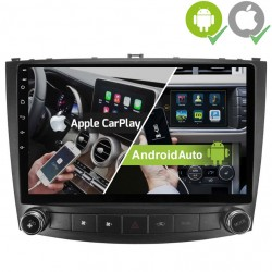 Pantalla Multimedia Dynavin-MegAndroid Android Auto CarPlay Lexus IS 2006, 2008, 2010, 2012