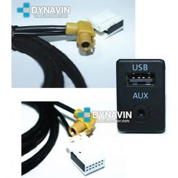 CONECTOR AUXILIAR y USB ORIGINAL - INTERFACE PARA GRUPO VAG