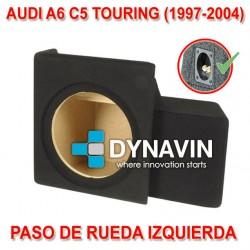 AUDI A6 C5 KOMBI, TOURING (+1997) - CAJA ACUSTICA PARA SUBWOOFER ESPECÍFICA PARA HUECO EN EL MALETERO