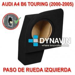 AUDI A4 B6 TOURING (+2000) - CAJA ACUSTICA PARA SUBWOOFER ESPECÍFICA PARA HUECO EN EL MALETERO