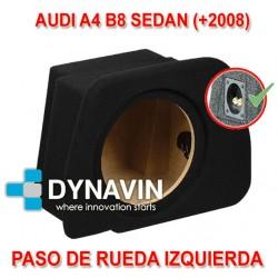 AUDI A4 B8 SEDAN (+2008) - CAJA ACUSTICA PARA SUBWOOFER ESPECÍFICA PARA HUECO EN EL MALETERO