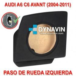 AUDI A6 C6 AVANT (+2004) - CAJA ACUSTICA PARA SUBWOOFER ESPECÍFICA PARA HUECO EN EL MALETERO