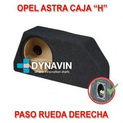 """OPEL ASTRA CAJA """"H"""" (2004-2009) - CAJA ACUSTICA PARA SUBWOOFER ESPECÍFICA PARA HUECO EN EL MALETERO"""