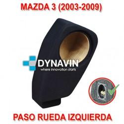 MAZDA 3 (2003-2009) - CAJA ACUSTICA PARA SUBWOOFER ESPECÍFICA PARA HUECO EN EL MALETERO