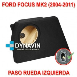 FORD FOCUS MK2 (2004-2011) - CAJA ACUSTICA PARA SUBWOOFER ESPECÍFICA PARA HUECO EN EL MALETERO