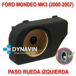 FORD MONDEO MK3 (2000-2007) - CAJA ACUSTICA PARA SUBWOOFER ESPECÍFICA PARA HUECO EN EL MALETERO
