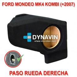 FORD MONDEO MK4 KOMBI, TOURING (+2007) - CAJA ACUSTICA PARA SUBWOOFER ESPECÍFICA PARA HUECO EN EL MALETERO