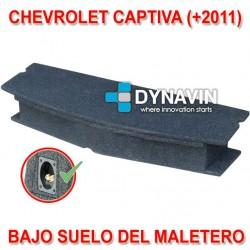CHEVROLET CAPTIVA 2 (+2011) - CAJA ACUSTICA PARA SUBWOOFER ESPECÍFICA PARA HUECO EN EL MALETERO