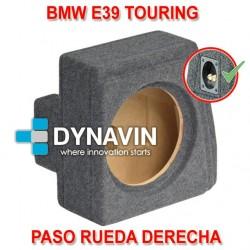 BMW E39 TOURING (1996-2004) - CAJA ACUSTICA PARA SUBWOOFER ESPECÍFICA PARA HUECO EN EL MALETERO