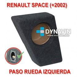 RENAULT SPACE (+2002) - CAJA ACUSTICA PARA SUBWOOFER ESPECÍFICA PARA HUECO EN EL MALETERO