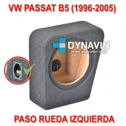 VW PASSAT MK4 B5 (1996-2005) - CAJA ACUSTICA PARA SUBWOOFER ESPECÍFICA PARA HUECO EN EL MALETERO