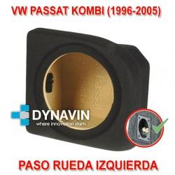 VW PASSAT MK4 B5 KOMBI (1996-2005) - CAJA ACUSTICA PARA SUBWOOFER ESPECÍFICA PARA HUECO EN EL MALETERO