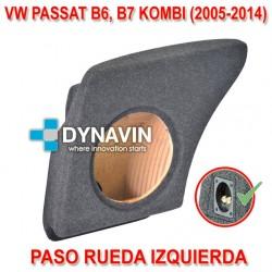 VW PASSAT MK5 B6 Y MK6 B7, KOMBI (2005-2014) - CAJA ACUSTICA PARA SUBWOOFER ESPECÍFICA PARA HUECO EN EL MALETERO