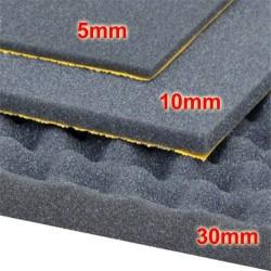 ESPUMA INSONORIZANTE, FONO-ABSORVENTE: 1000x500. Grosor 10mm.