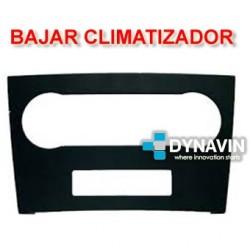 MERCEDES CLASE A/B - BAJAR CLIMA (1 A 2 DIN)